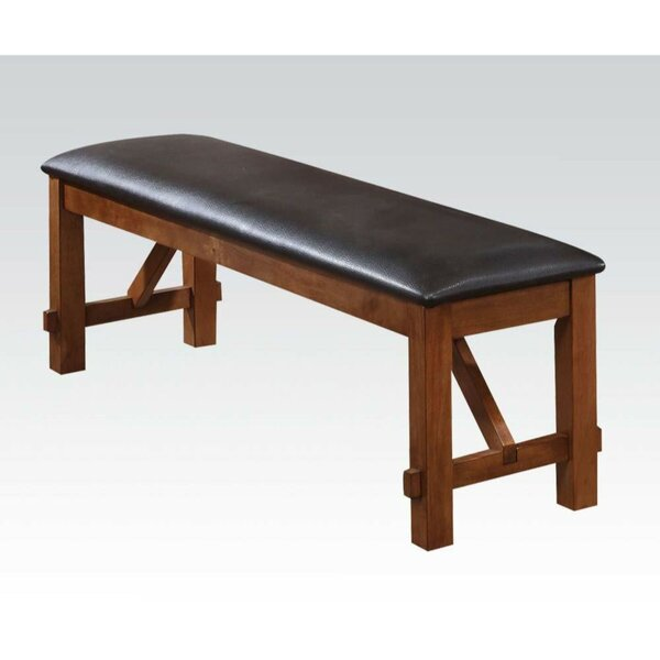 Skyla Upholstered Bench by Millwood Pines