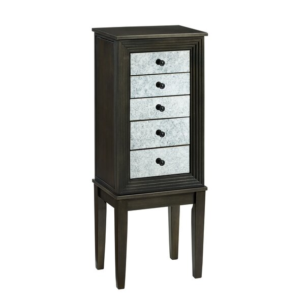 Criss Jewelry Armoire with Mirror by Darby Home Co