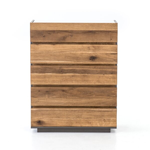 Anner 5 Drawer Chest by Union Rustic