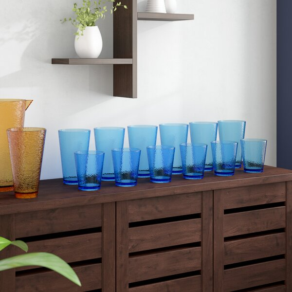 Ehlers 12 Piece Plastic Every Day Glass Set by Red Barrel Studio