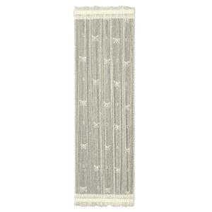 Kelsie Side Light Wildlife Sheer Rod Pocket Single Curtain Panel