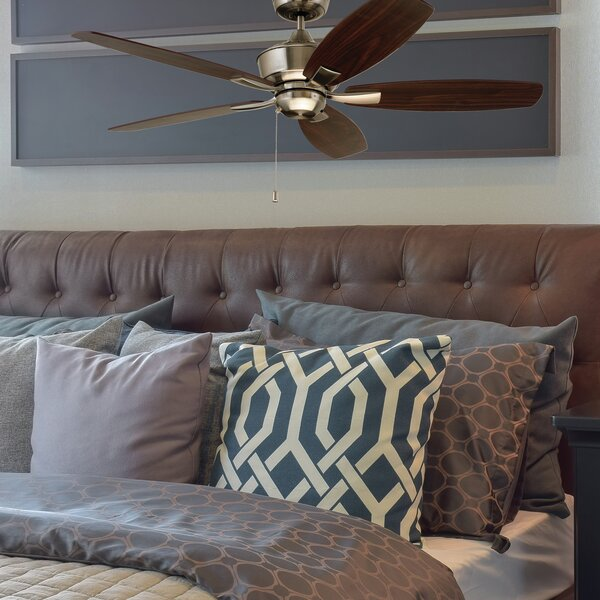 52 Imes 5 Blade LED Ceiling Fan by Charlton Home