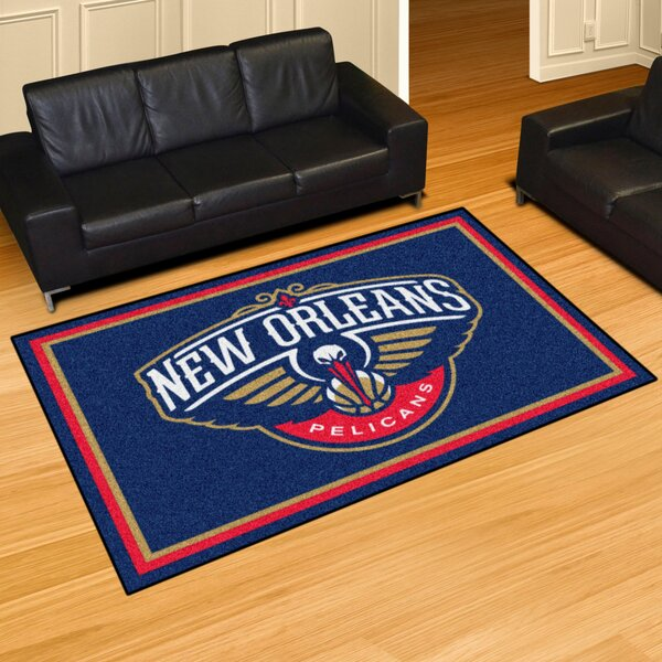 NBA - New Orleans Pelicans 5x8 Doormat by FANMATS