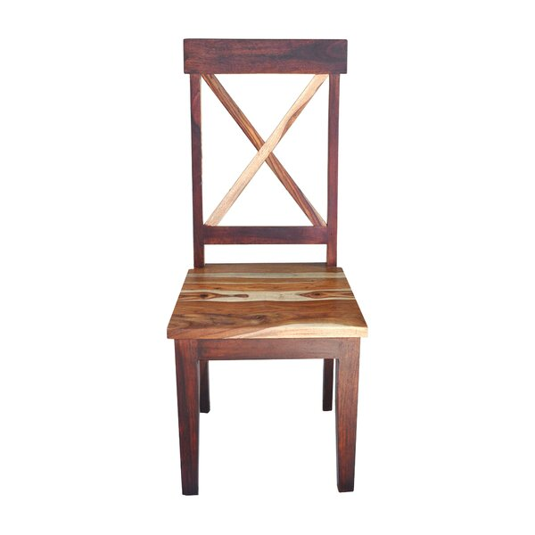 Wincott Solid Wood Dining Chair (Set of 2) by Bloomsbury Market