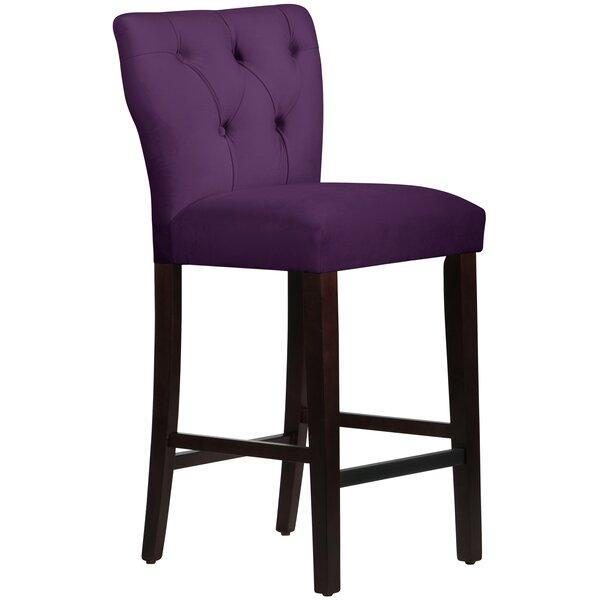 Evelina 31 Bar Stool by Wayfair Custom Upholstery™Evelina 31 Bar Stool by Wayfair Custom Upholstery™
