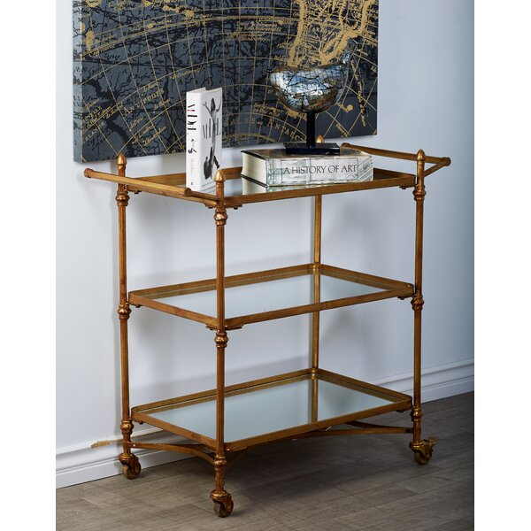 Cahill Bar Cart by Breakwater Bay Breakwater Bay