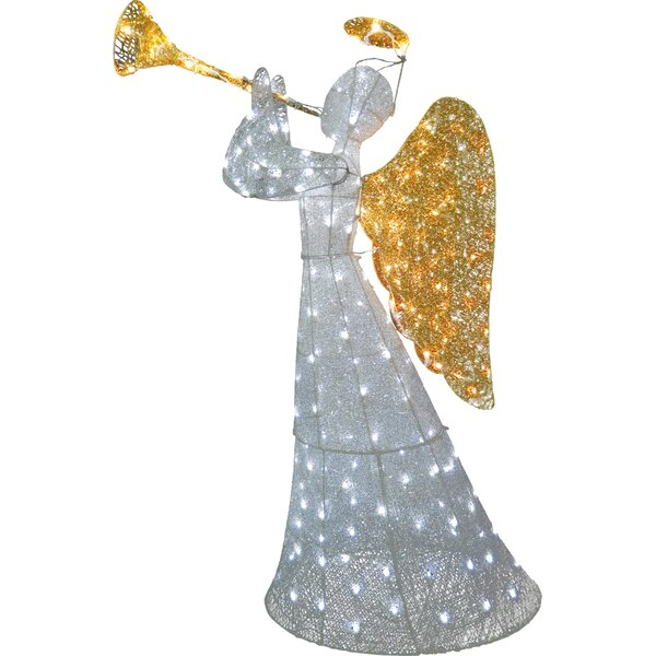 Crystal Angel Christmas Decoration by The Holiday
