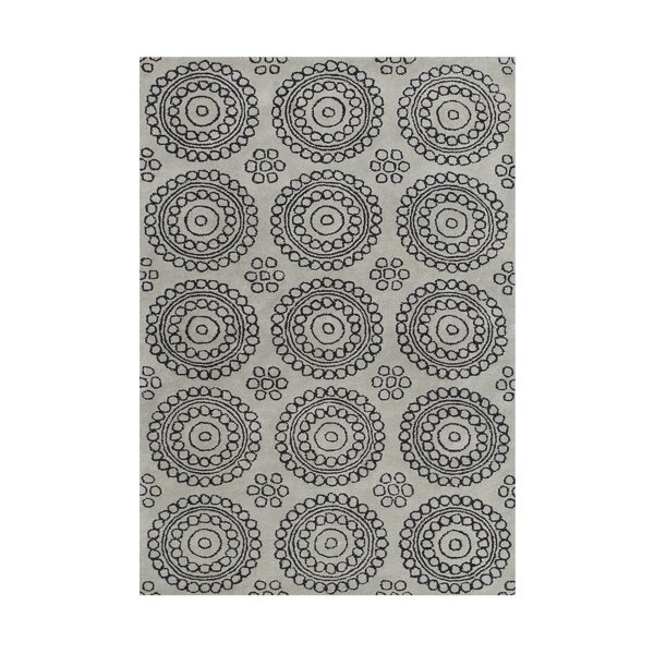Allivia  Hand-Tufted Gray Area Rug by Wildon Home ®