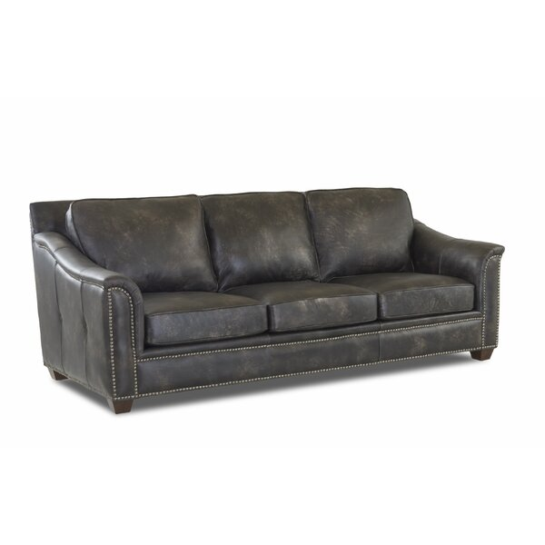 Shop Special Prices In Sasha Leather Sofa by Foundry Select by Foundry Select