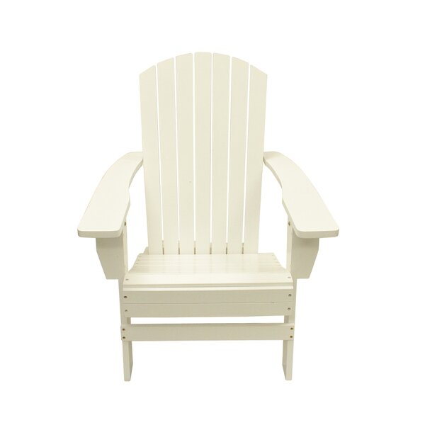 Solid Wood Adirondack Chair by LB International