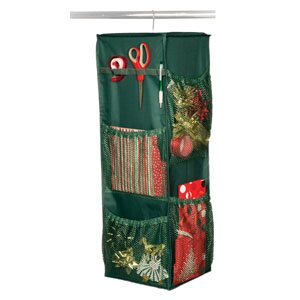 Holiday Revolving Giftwrap Organizer by Richards Homewares