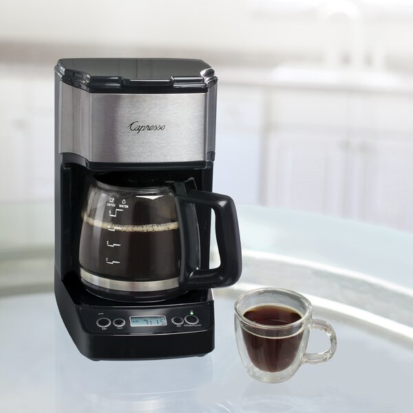 5-Cup Mini Drip Coffee Maker by Capresso