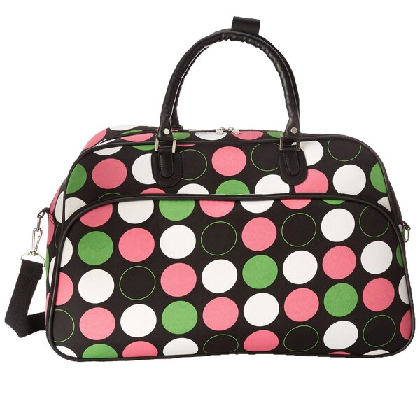 Polka Dot 21 Carry-On Duffel by World Traveler