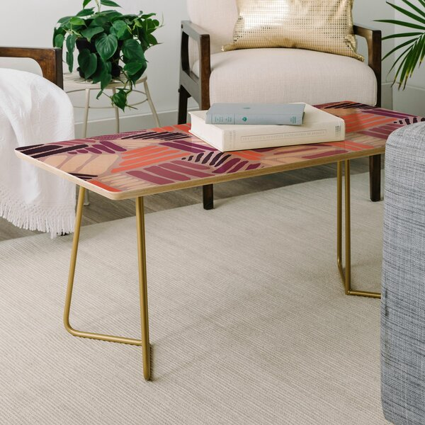 Mareike Boehmer Strokes Rose Coffee Table By East Urban Home