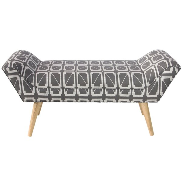 Swartwood Upholstered Bench by Bungalow Rose