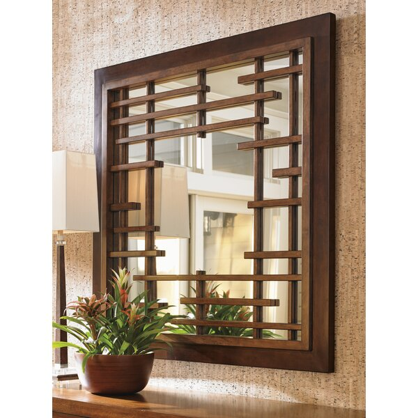 Island Fusion Mikasa Square Dresser Mirror by Tommy Bahama Home