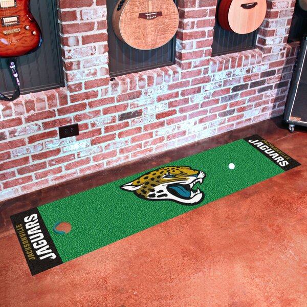 NFL Jacksonville Jaguars Putting Green Mat by FANMATS