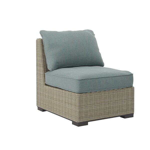 Dyess Patio Chair with Cushions by Rosecliff Heights