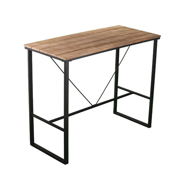 Indoor/Outdoor Bar Table By Gracie Oaks