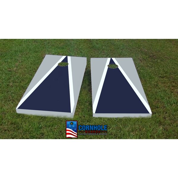 Cowboys Cornhole Game (Set of 2) by Custom Cornhole Boards