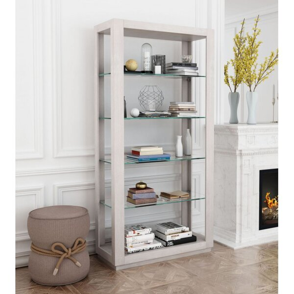 Cavanaugh Etagere Bookcase by Rosecliff Heights