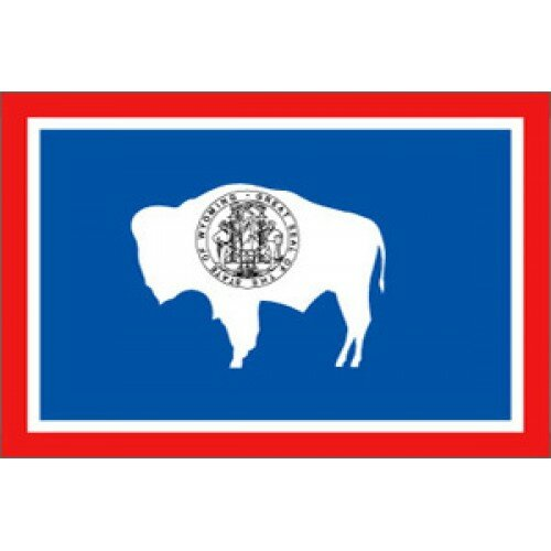 Wyoming Traditional Flag by NeoPlex
