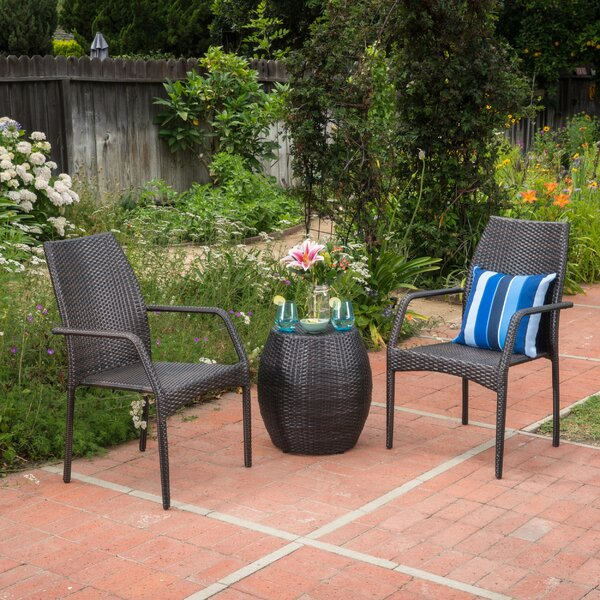 Tyris 3 Piece Seating Group Set by Gracie Oaks