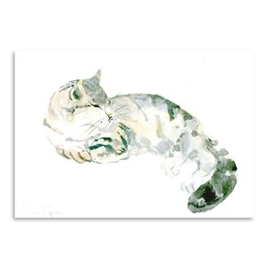 Cat Graphic Art by East Urban Home