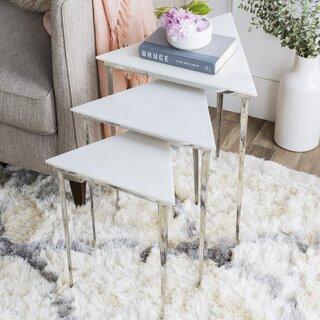 Arianna Nesting Tables (Set of 3) by Orren Ellis SKU:CA224144 Order