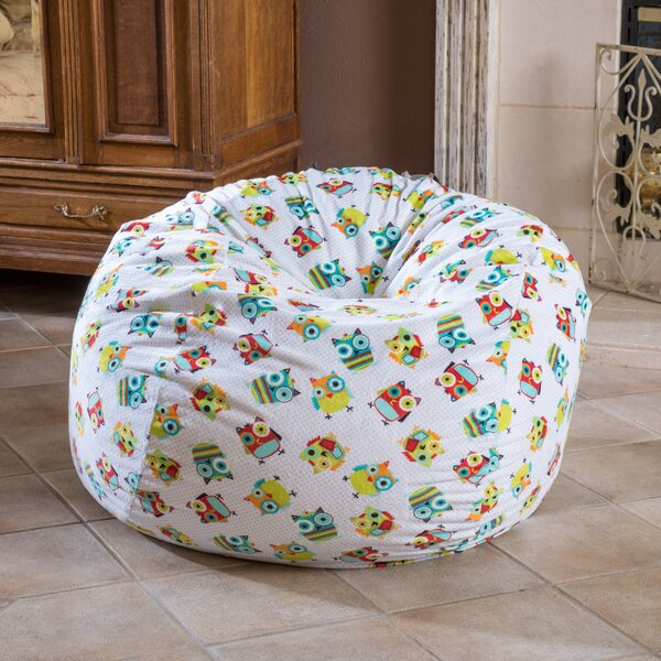 Microfiber Bean Bag Chair by Zoomie Kids