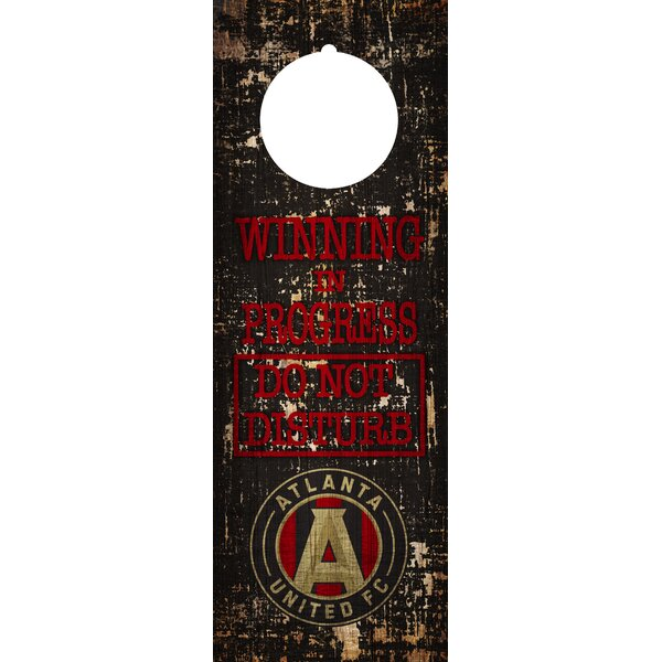 MLS Door Hanger Wall Décor by Fan Creations