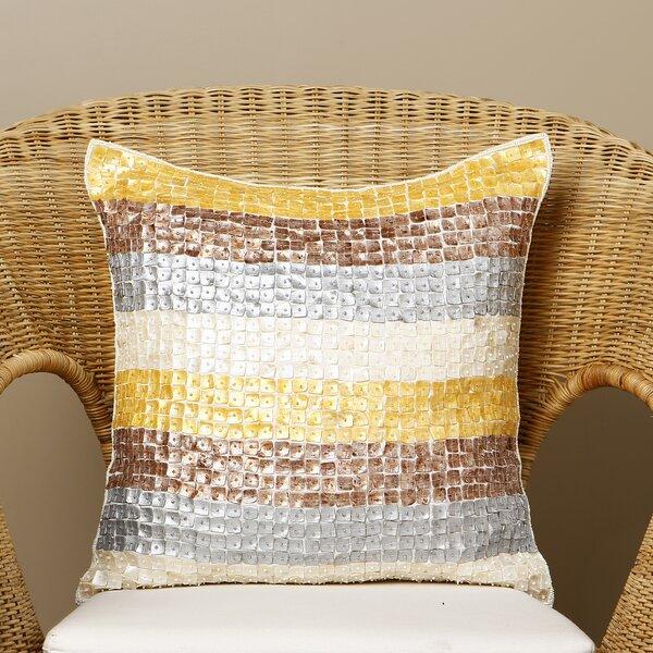 Samarth Multicolor Striped Pillow Cover by Willa Arlo Interiors