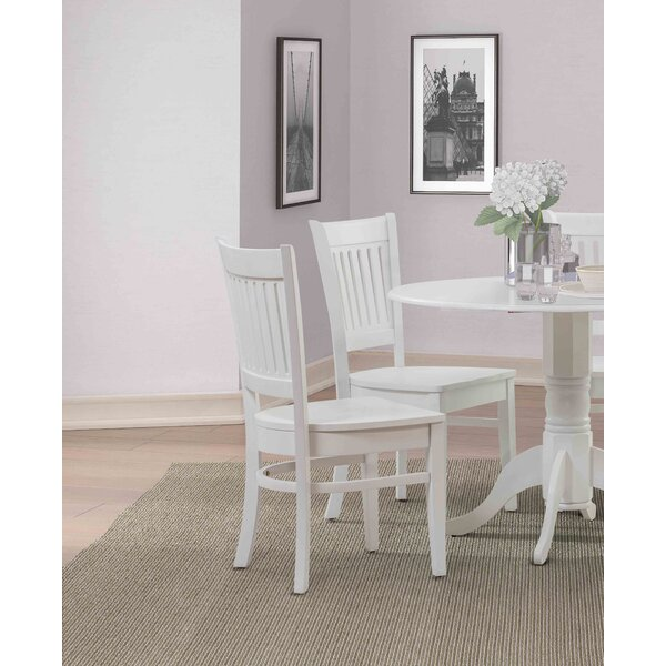 Ervine Solid Wood Dining Chair (Set of 4) by Alcott Hill