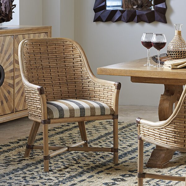 Los Altos Keeling Woven Upholstered Dining Chair by Tommy Bahama Home Tommy Bahama Home