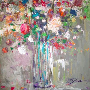 'For the Event' by  Bobby Sikes Painting Print on Wrapped Canvas by GreenBox Art