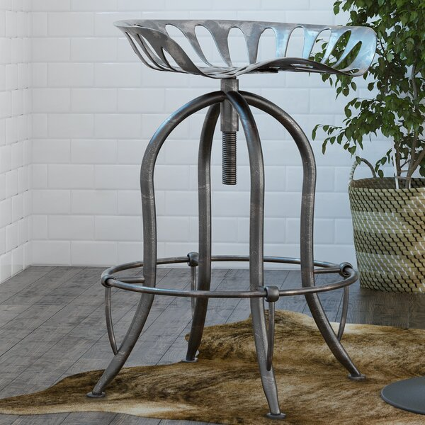 Gridley Adjustable Height Bar Stool by Trent Austin Design