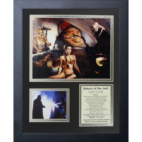 Star Wars: Return of the Jedi Action Framed Memorabilia by Legends Never Die