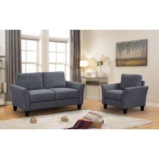 Mcniel 2 Piece Living Room Set by Red Barrel Studio®