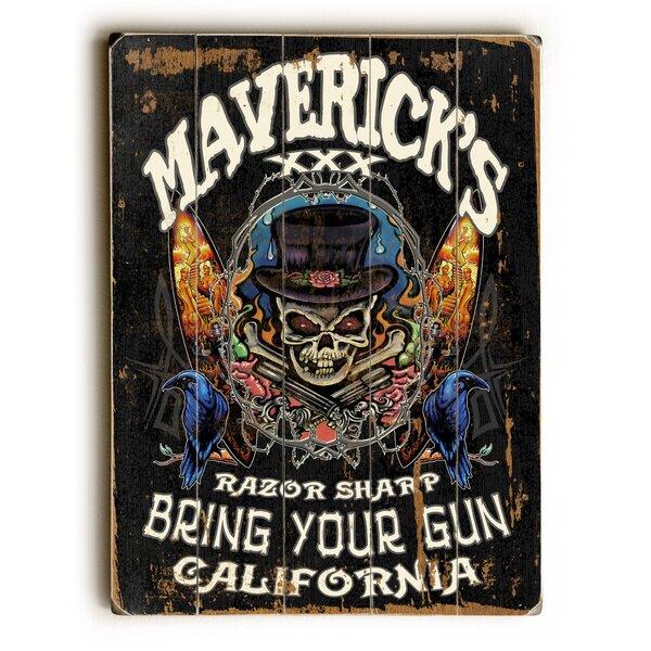 Mavericks Razor Sharp Vintage Advertisement by Artehouse LLC