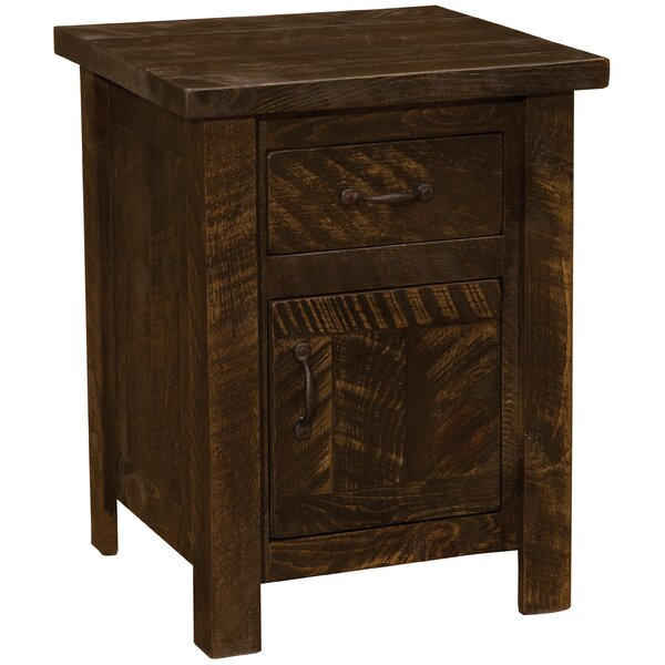 Devereaux 1 Drawer Nightstand By Union Rustic by Union Rustic No Copoun