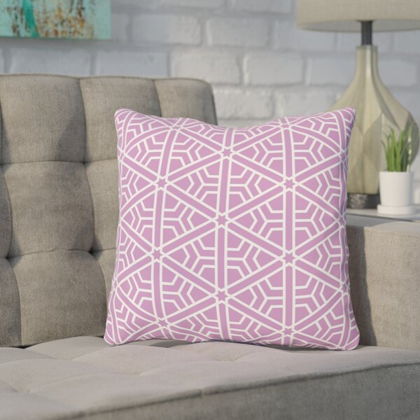 Absher Purple Outdoor Throw Pillow by Wrought Studio