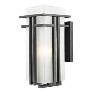 Check Prices Weitzel 1-Light Outdoor Sconce By Winston Porter