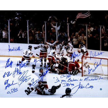 1980 USA Hockey Team Photographic Print by Steiner Sports