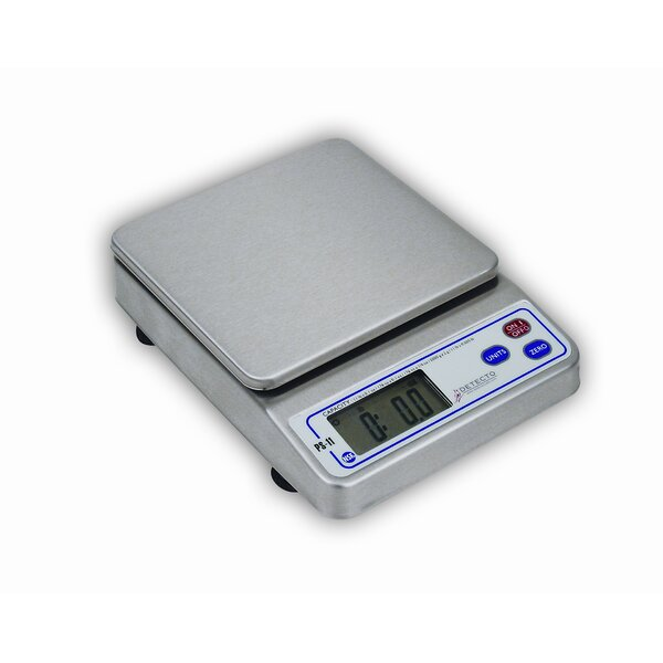 NSF Approved Portion Control Scale in Stainless Steel by Detecto
