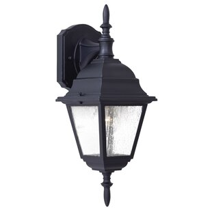 Read Reviews Bay Hill 1-Light Outdoor Wall Lantern By Great Outdoors by Minka