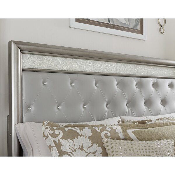 Haxby Upholstered Panel Headboard by Rosdorf Park