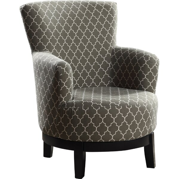 Jamilee Swivel Armchair by Wrought Studio