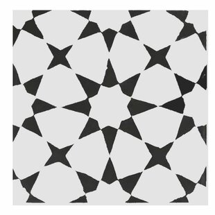 Medina 8 X Handmade Cement Tile In Black White