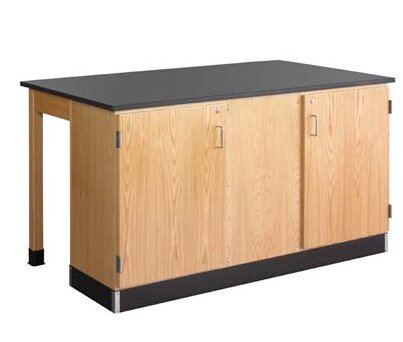 Forward Vision III Two Student Workstation by Diversified Woodcrafts