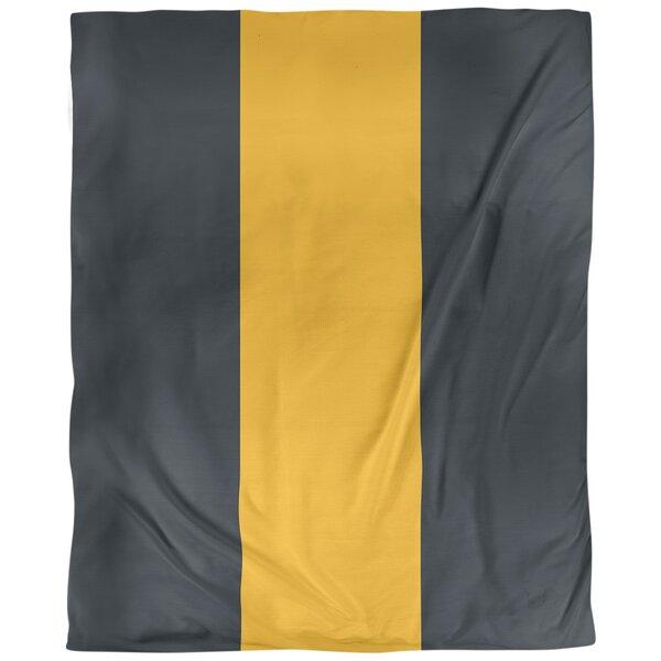 Pittsburgh Arizona Football Stripes Single Duvet Cover